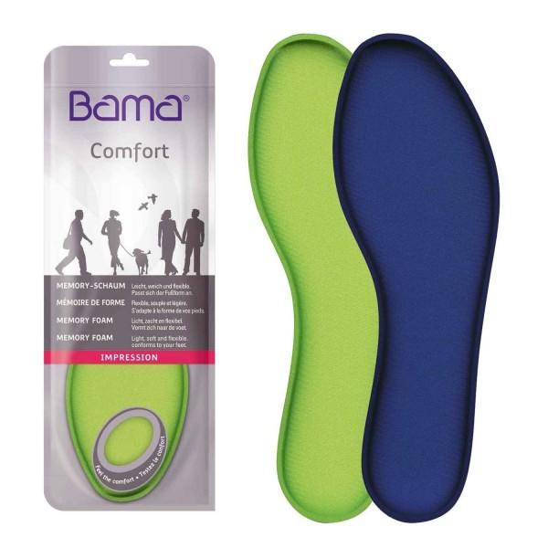 Bama Impression Memory-Schaum Einlegesohle passt sich der Fußform an,weich,leicht,flexibel